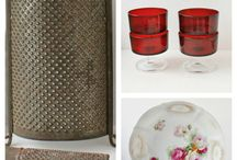 Vintage Goods / Finding Treasure from the Past- Thrifting, Estate Sales, Yard Sales or Rescue...