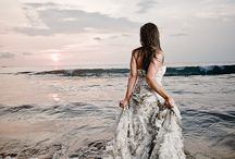 Trash the dress / Beach