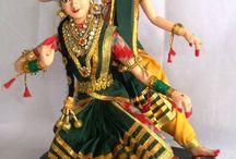 Indian handmade dolls