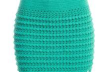 Faldas de ganchillo
