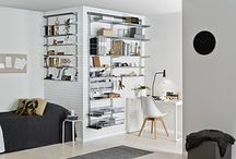 Home Office / Elfa is offering flexible interior products and made to measure sliding doors