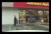 Viral Video - VIDEO - Truck Crashes Into Auto Parts Store