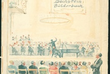 The Bechstein Picture Book (1928) / Digging through the treasure chests in our archives we have found this gem and decided to share it with you: The Bechstein Picture Book (Das Bechstein Bilderbuch) from 1928. We will start a new series and publish a few nice pages and pictures every now and then from this rich historical source filled with famous pianists and beautiful pianos.