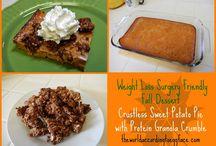 weight loss surgery recipes