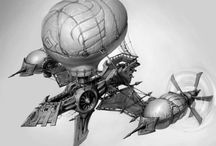 Steampunk Airships / by Micah Shlauter