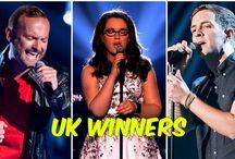 os vencedores the voice UK