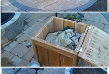Propane fire pit stand