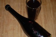 recepty - sirupy a likéry