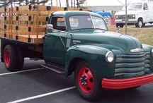 54 Chev truck