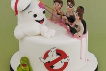 Ghostbusters Cakes & Treats / Ghost, Slimer, Mr Stay Puft, Marshmallow Man, Ghostbusters