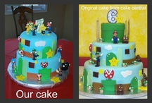 We Make Your Cakes / you can find us on Facebook: https://www.facebook.com/wemakecake #cakes #party #birthday #wedding  / by Tania Johnson