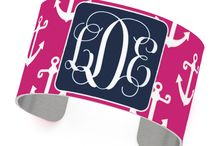 put your name on it! / monograms, monograms, and more monograms!