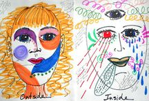 art/art therapy ideas / by Jennifer Patterson