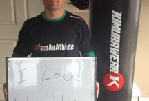 #IamAnAthlete / We are all athletes in our own rights. What makes you one? / by Kimurawear - MMA & Fitness