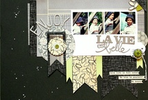 My scrapbooking layouts 2012 / by Lilith Eeckels