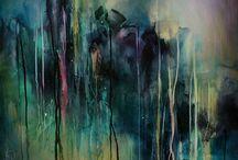 Artist - Michael Lang  / Abstract art