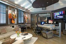 Home studios / My perfect music world..