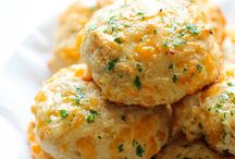 Cheddar cheese buscuits