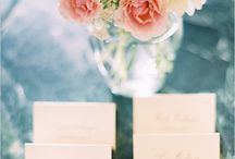 Reception - name cards