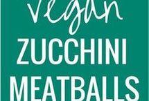 Vegan zucchini