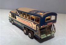 BUS Models - Tin & Plastic Toys