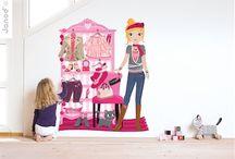 Duvar Stickerları / Çocuğunuzun odası için hem şık hem de renkli duvar çıkartmaları.