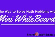 Math Tips / Practical tips to use while studying and learning math.