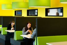 Workplace design / Ideas and examples from Morgan Lovell's experience in inspirational workplace design.