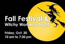 Van Otis Fall Festival & Witchy Women's Night / Witchy Womens Night at Van Otis Join us October 30th for our Annual Witchy Women's Night! Thursday, October 30th from 10am - 7:30pm