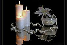 Świeczki, świeczniki...