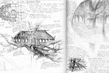 Dibujos de la tierra media
