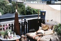 Balcony & Rooftop Decorating idea's