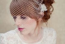 Bride hairstyles retrô / R n' R (Black n' white wedding)