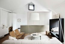 Inspiration-Rural Retreat / Inspiration for my dream rural abode. Modern in style but with a nod to its rural roots and a sensitivity to a natural palette.