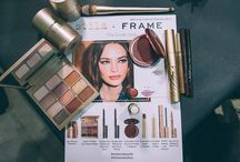 Stila X Frame / Go behind the scenes at the gorgeous look Sarah Lucero created with a nod to Joni for the Frame Denim FW17 show. Get the look: http://like2b.uy/stilacosmetics/items/2619259