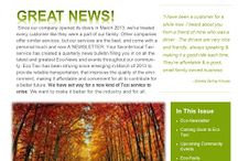 Eco Taxi Newsletters