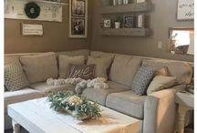 Farmhouse living-room