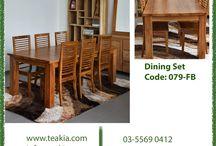 Teak wood dining sets