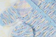virkkaa/neulo - vauvan toukkapussit ja peitot