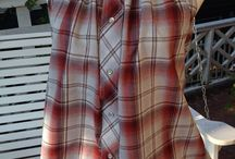 Men's Shirts Upcycled