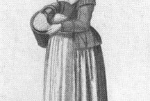 17th century clothing - women