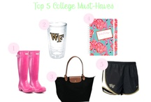 College Must-Haves / Your college-must haves! / by University Primetime