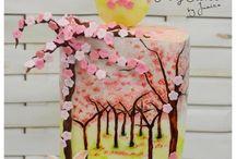 Cherry blossom ~ Easter spring cake
