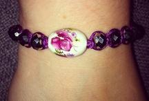 Bracelets (made by me)