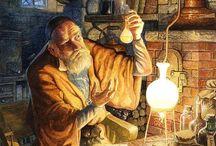Alchemie in der Kunst