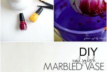 Nail polish art craft
