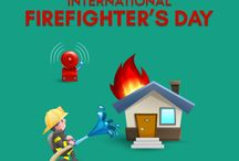 International Firefighter's Day 2016 / International Firefighters' Day (IFFD) is observed on May 4. It was instituted after proposal emailed out across the world on January 4, 1999 due to the deaths of five firefighters in tragic circumstances in a wildfire in Australia. May 4 used to be a traditional Firefighters' Day in many European countries, because it is the day of Saint Florian, patron saint of firefighters.