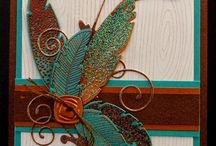 Card Making - Feather Cards