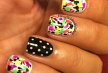 * Nails For Summer/Neon/Patriotic / by Kristy Wearshing
