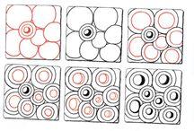 Элементы, узоры Zentangles